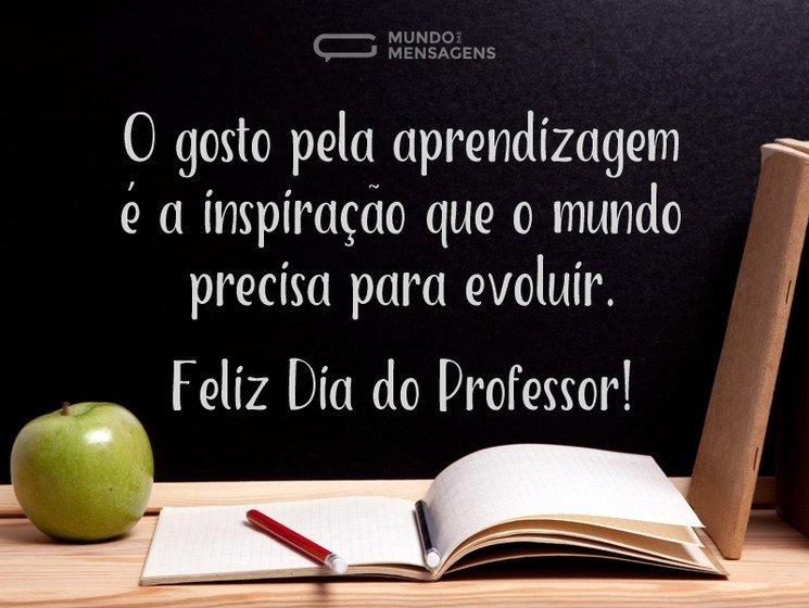 Para os Verdadeiros Professores