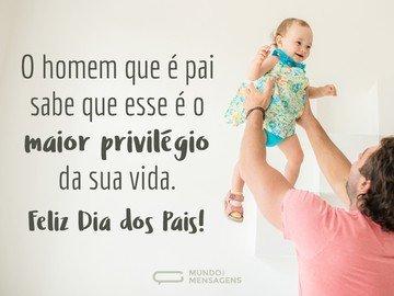 Ser pai é um privilégio