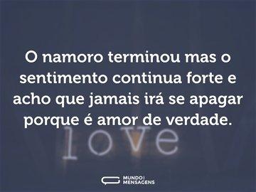 Frases De Término De Namoro Mundo Das Mensagens
