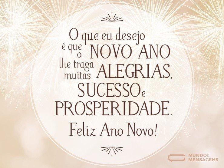 Mensagens De Ano Novo Com Amor: Alegria, Sucesso E Prosperidade Para O Ano Novo