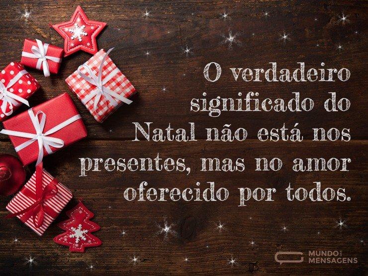 Mensagem De Natal Reflexão: Amor E Bondade Para O Natal