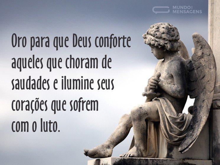 Conforto para quem está de luto