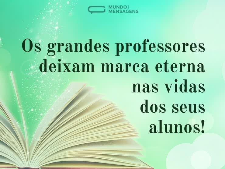 Os Grandes Professores