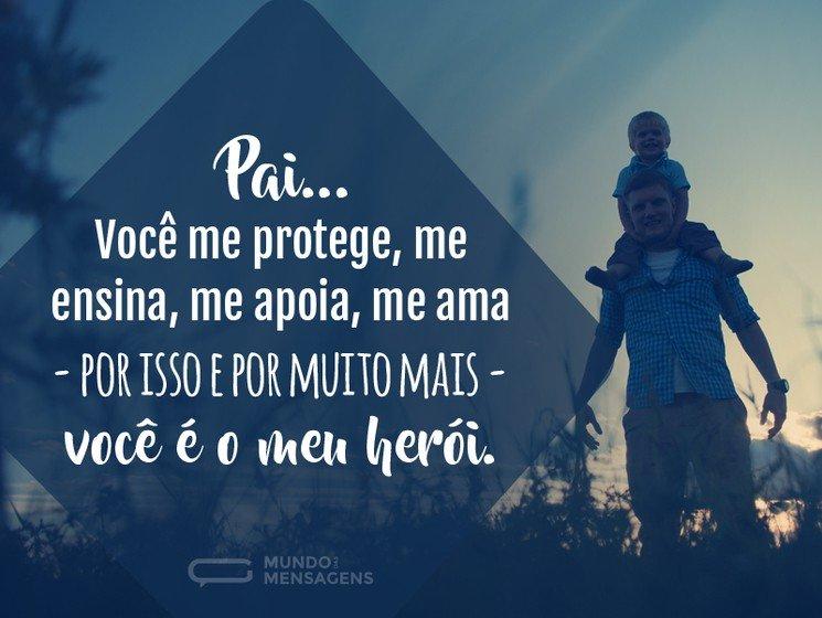 Meu pai é o meu herói
