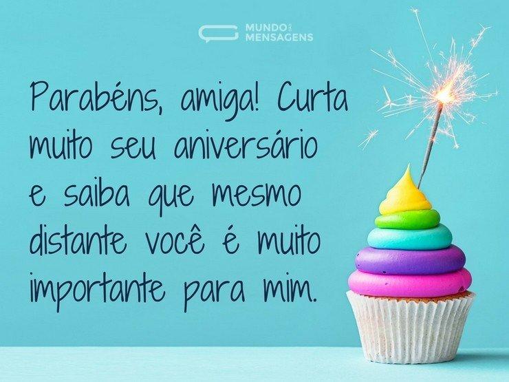 Parabéns Pelo Seu Aniversário Irmã Querida Felicidades: Parabéns E Curta Seu Aniversário, Amiga