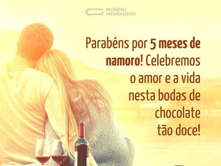 A Doce Celebração Da Bodas De Chocolate Mundo Das Mensagens