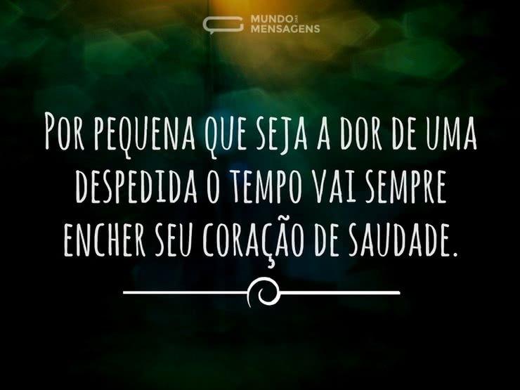 Por Miltinho De Carvalho Uma Mensagem: Coração De Saudade
