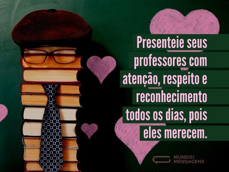 Mensagens Para O Dia Do Professor Mundo Das Mensagens