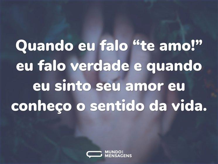 Frases Curtas De Amor Mundo Das Mensagens