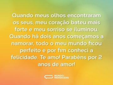 Texto De Amor Aniversario De Namoro