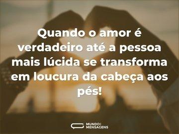 Frases De Loucuras De Amor Mundo Das Mensagens
