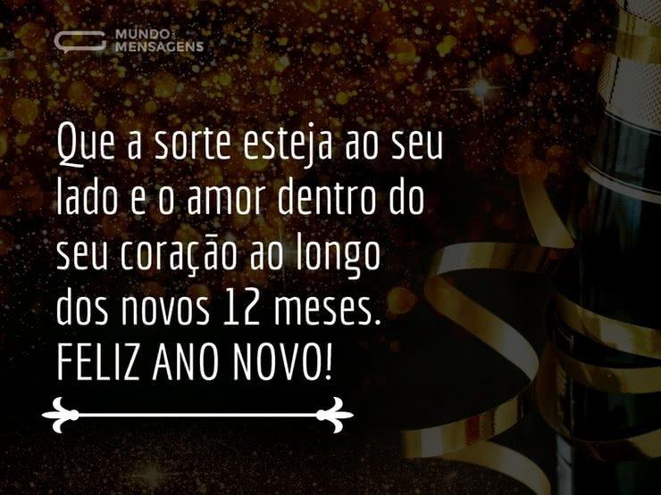 Mensagens De Ano Novo Com Amor: Que O Novo Ano Seja Belo