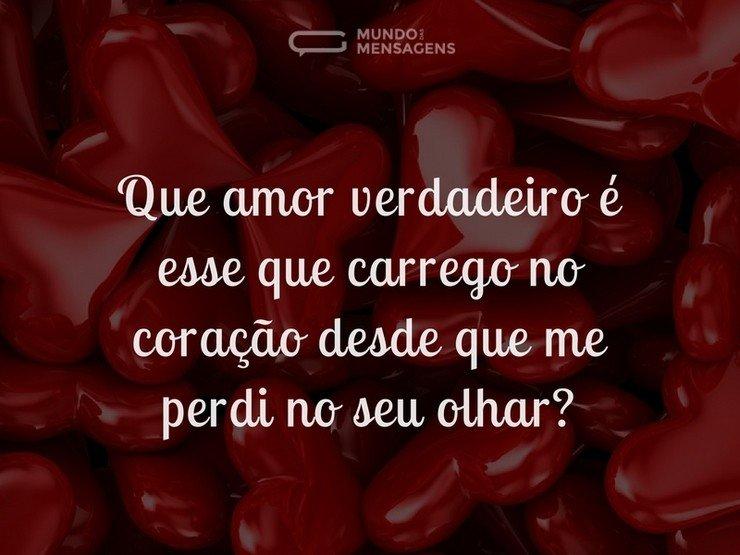 O Amor Que Carrego No Coração