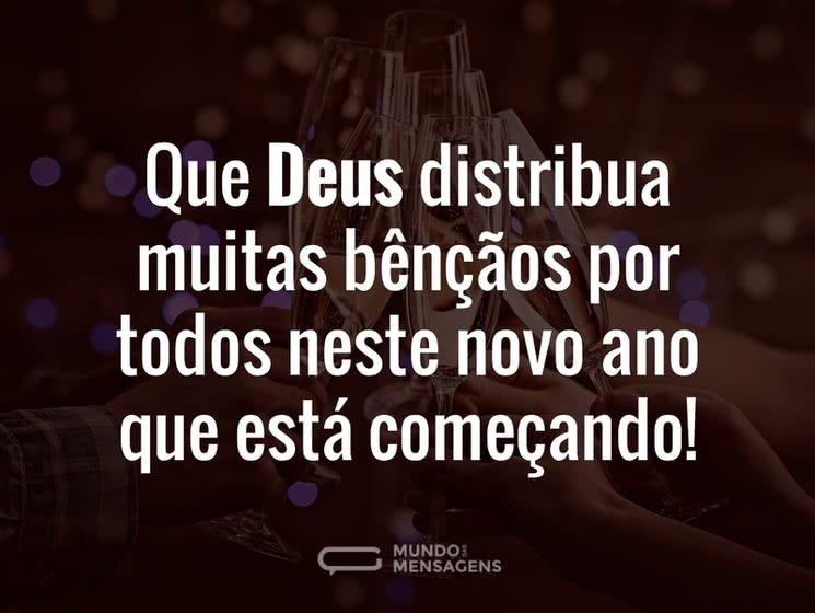 A Bênção de Deus para este Novo Ano