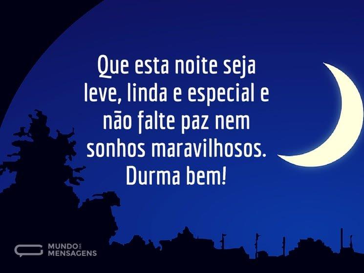 Mensagem De Boa Noite Especial: Mundo Das Mensagens