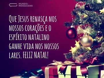 Jesus e o Espírito Natalino