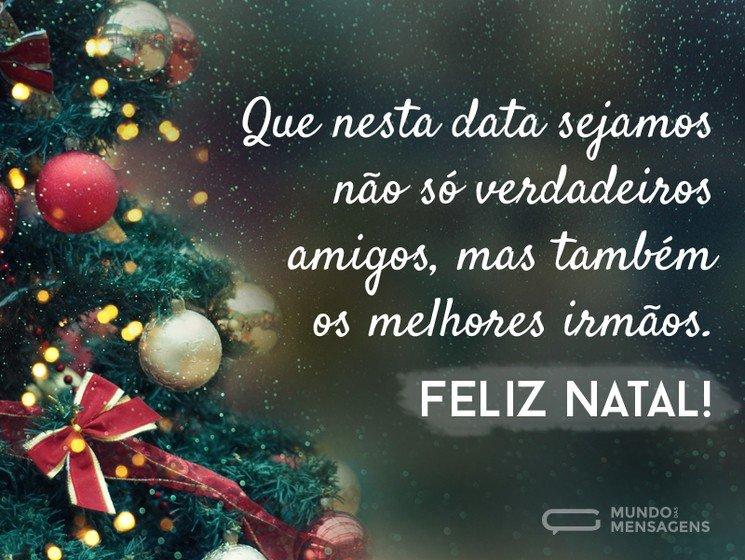 Mensagens De Natal Para Amigos Mundo Das Mensagens