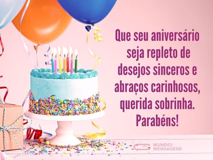 Frase De Feliz Aniversario Para Sobrinha 1729715