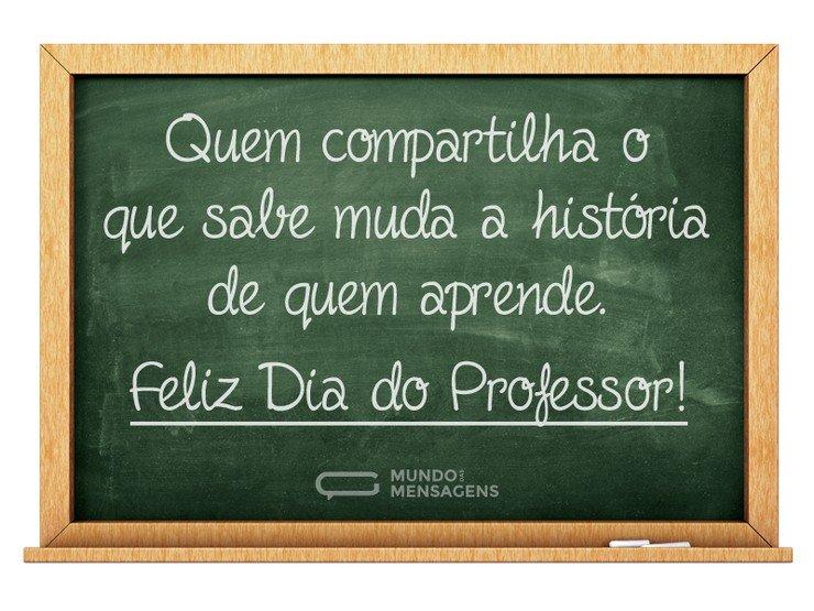 A História De Quem Aprende