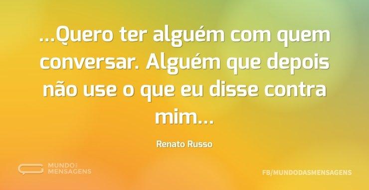 Frases De Renato Russo Mundo Das Mensagens