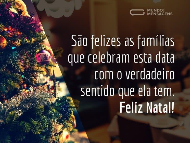 Mensagens De Natal Para Família Mundo Das Mensagens