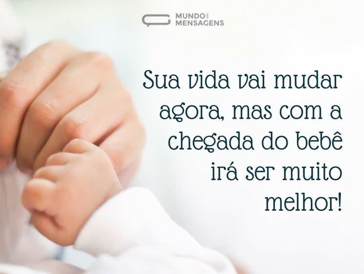 Famosos Chegada de Bebê - Mensagens para Bebê que Vai Nascer - Mundo das  LF67