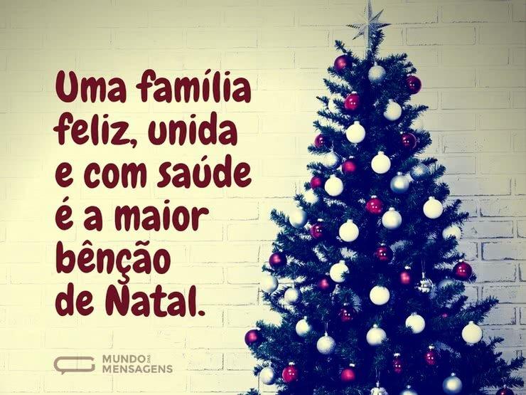 Mensagem De Natal Para Família: A Maior Bênção De Natal