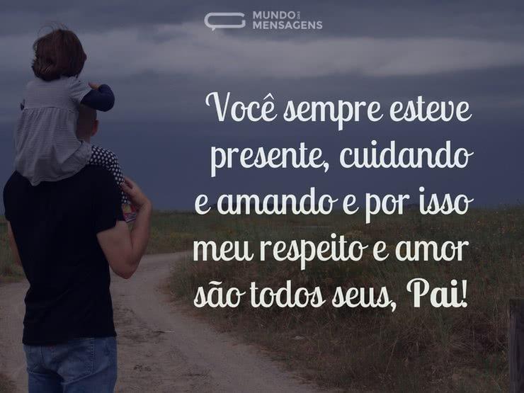 Respeito E Amor, Pai