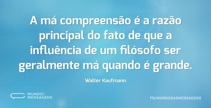 A má compreensão é a razão principal do ...